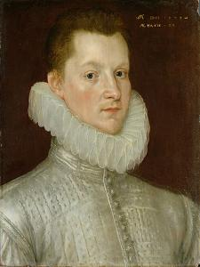 John Smythe of Ostenhanger (Now Westenhanger) Kent, 1579 (Oil on Panel) by Cornelis Ketel