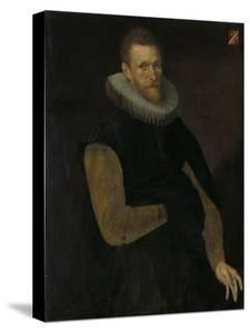 Portrait of Jacob Cornelisz Banjaert by Cornelis Ketel