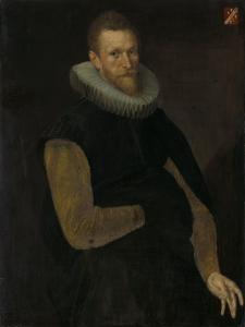 Portrait of Jacob Cornelisz Banjaert by Cornelis Ketel