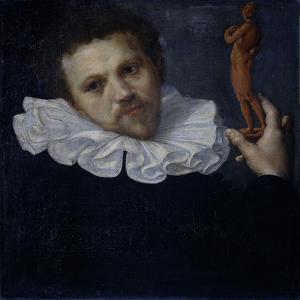 Portrait of Paulus Van Vianen by Cornelis Ketel