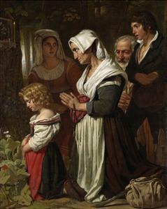 Piety, 1823 by Cornelis Kruseman