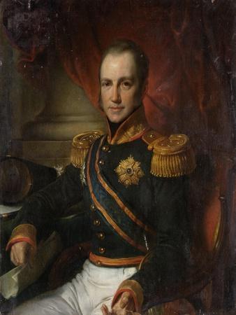 Portrait of Godart Alexander Gerard Philip