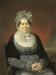 Portrait of Mrs. Brak-Haskenhoff by Cornelis Kruseman