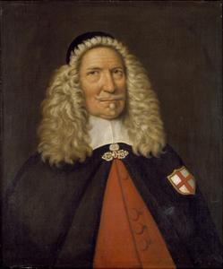 Captain Nicholas Burgh by Cornelius de Neve