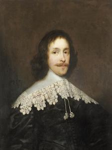 Portrait of a Gentleman by Cornelius Johnson