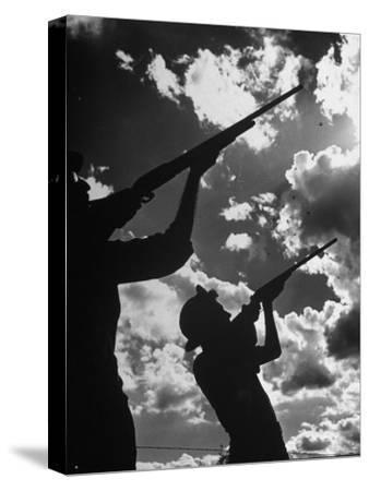 Men Hunting Doves