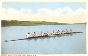 Cornell Crew on Cayuga Lake, Ithaca, New York