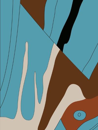Corner Baby Blue Eye-Belen Mena-Giclee Print