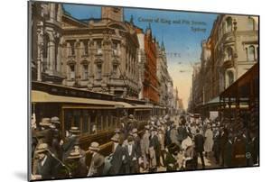 Corner of King and Pitt Streets, Sydney, New South Wales, Australia, C1917