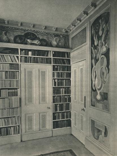 'Corner of Mrs. St. John Hutchinson's Drawing Room, Regent's Park. Panels by Duncan Grant', 1928-Unknown-Photographic Print