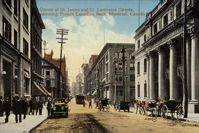 Corner of St James and St Lawrence Streets--Photographic Print