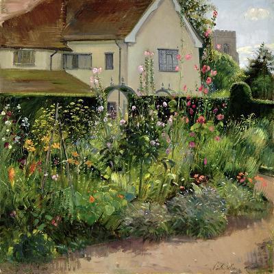 Corner of the Herb Garden-Timothy Easton-Giclee Print