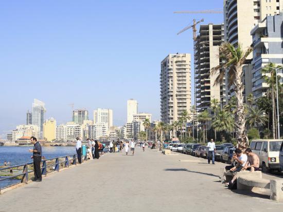 Corniche, Beirut, Lebanon, Middle East-Wendy Connett-Photographic Print
