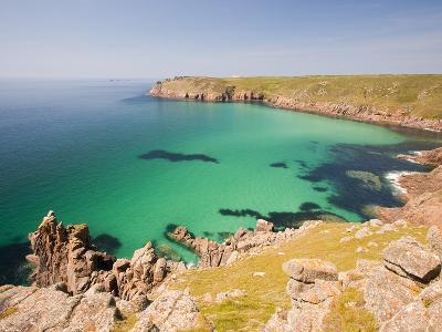 Cornish coastal scenery-Ashley Cooper-Photographic Print