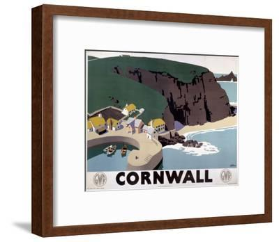 Cornwall Cliff and Harbour