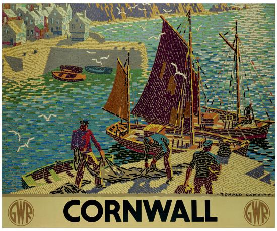 Cornwall-Ronald Lampitt-Giclee Print