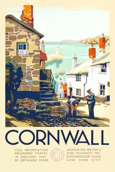 Cornwall-John+F60 Francis Bee-Art Print