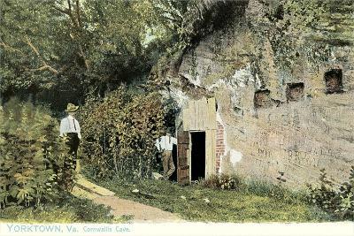 Cornwallis Cave, Yorktown--Art Print