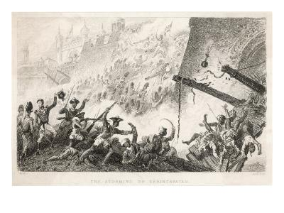 Cornwallis Leads the Storming of Seringapatam--Giclee Print