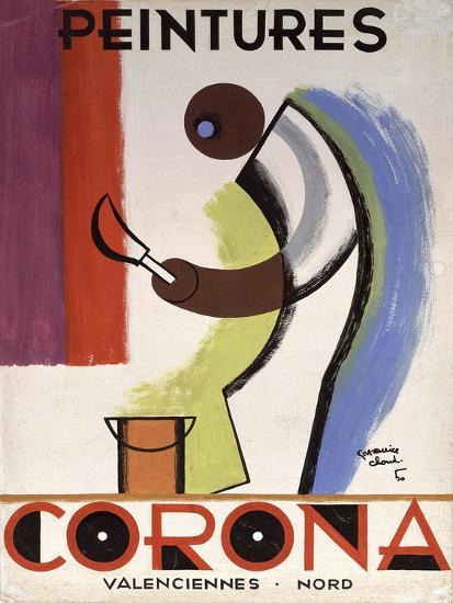 Corona Paint-Vintage Apple Collection-Giclee Print