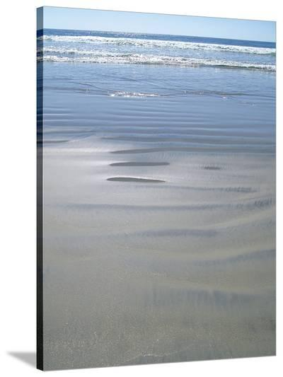 Coronado Waves 1-Jenny Kraft-Stretched Canvas Print
