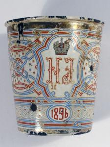 Coronation Cup. Present on the Occasion of the Coronation of Nicholas II 1896