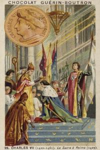 Coronation of Charles VII of France at Reims, 1429
