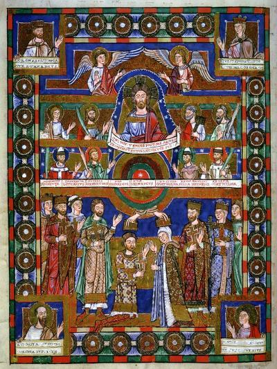 Coronation of Henry the Lion, Duke of Saxony, and His Wife Matilda--Giclee Print