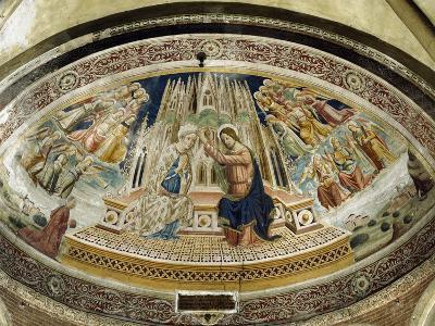 Coronation of Mary, San Michele Maggiore Basilica, Pavia, Italy-Giovanni and Agostino Da Vaprio-Giclee Print