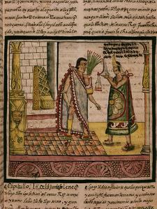 Coronation of Montezuma, 1466-1520 Last King of the Aztecs
