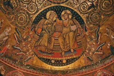 Coronation of the Virgin, 1296--Photographic Print