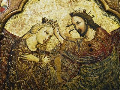 Coronation of the Virgin, 1340-1350--Giclee Print