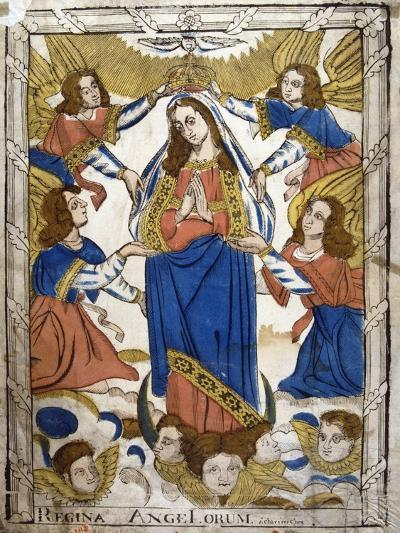 Coronation of the Virgin Mary, 19th Century--Giclee Print