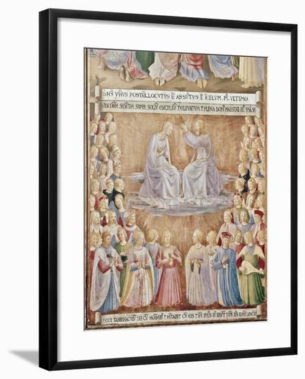Coronation of the Virgin-Fra Angelico-Framed Giclee Print