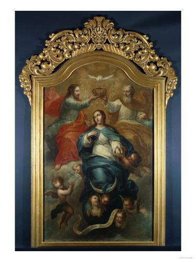 Coronation of the Virgin-Emilio Boggio-Giclee Print