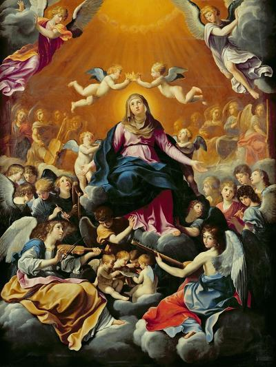 Coronation of the Virgin-Guido Reni-Giclee Print