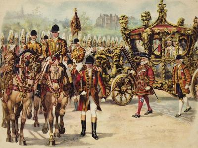 Coronation Procession of King George V, 22 June 1911-Henry Payne-Giclee Print