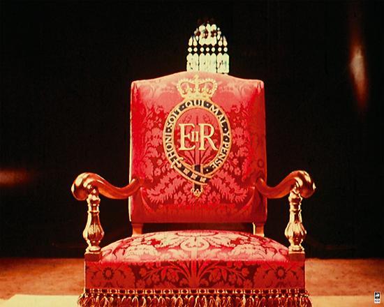 Coronation Throne, 1953-British Pathe-Giclee Print