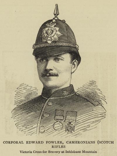 Corporal Edward Fowler, Cameronians, Scotch Rifles--Giclee Print