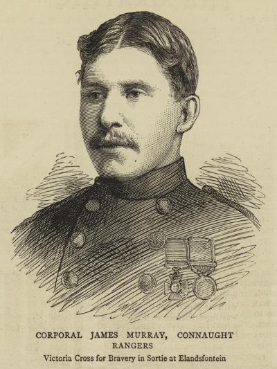 Corporal James Murray, Connaught Rangers--Giclee Print
