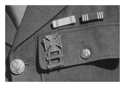Corporal Jimmie Shohara's Ribbons-Ansel Adams-Art Print