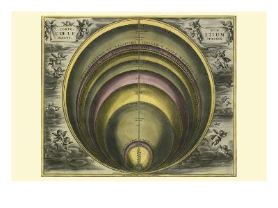 Corprum Coelestium-Andreas Cellarius-Art Print