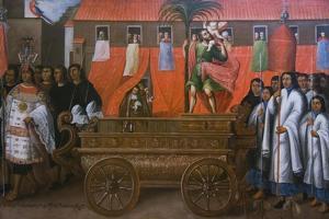 Corpus Christi Procession, Parish of San Cristóbal, C,1680