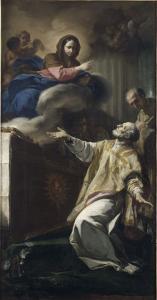 Apparition de la Vierge à saint Philippe de Neri by Corrado Giaquinto