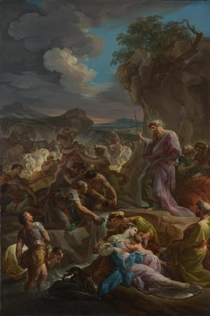 Moses Striking the Rock, 1744