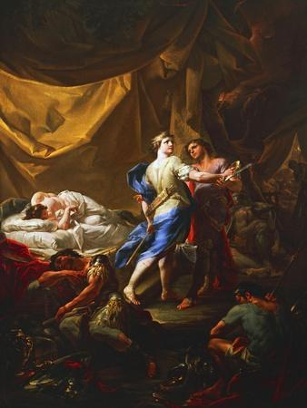 Odysseus and Diomedes in Rhesus's Tent