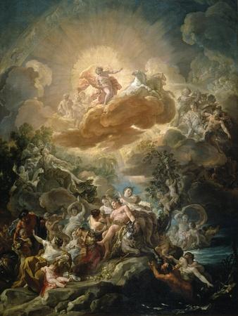 The Birth of the Sun and the Triumph of Bacchus, ca. 1761.