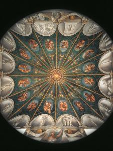 Frescoes in the Camera Della Badessa at the Convent of St Paolo in Parma by Correggio