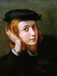Portrait of a Young Blond Boy by Correggio
