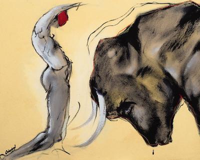 Corrida I-Pascal Guerineau-Art Print